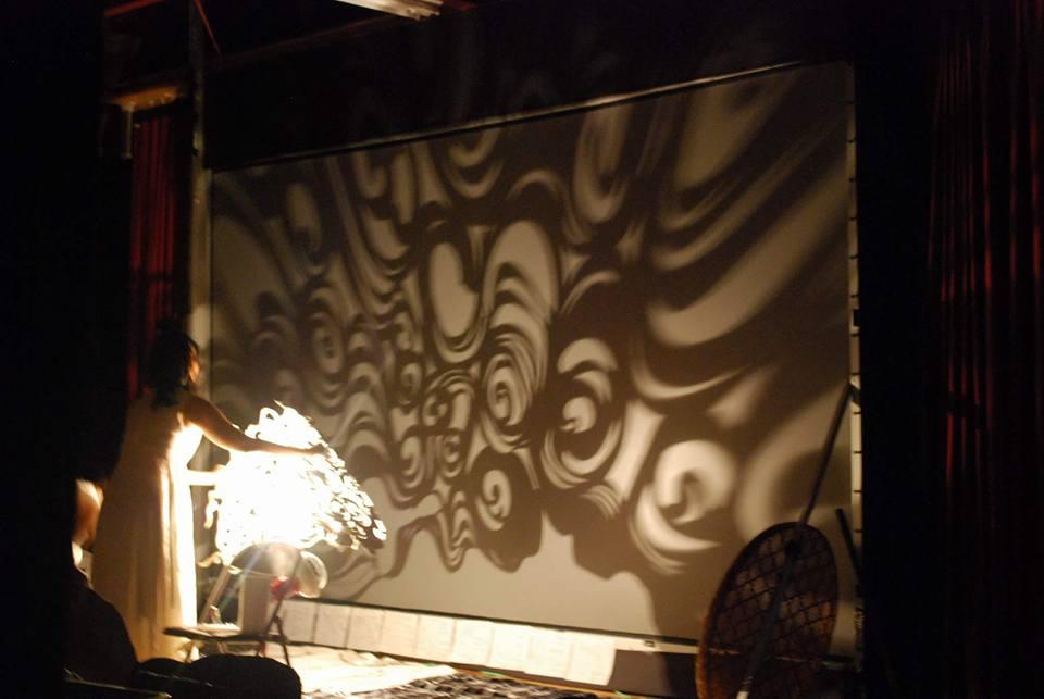 影絵、読谷、むらさきむら、影絵の夜プロジェクト